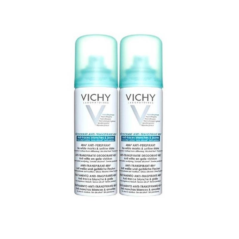 Achetez VICHY Déodorant anti-transpirant anti-trace 2 Aérosol de 125ml