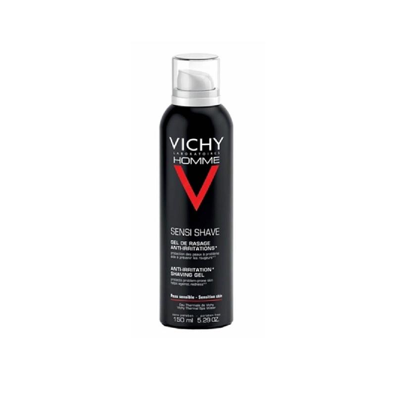 Achetez VICHY HOMME Gel de rasage peau sensible Aérosol de 150ml