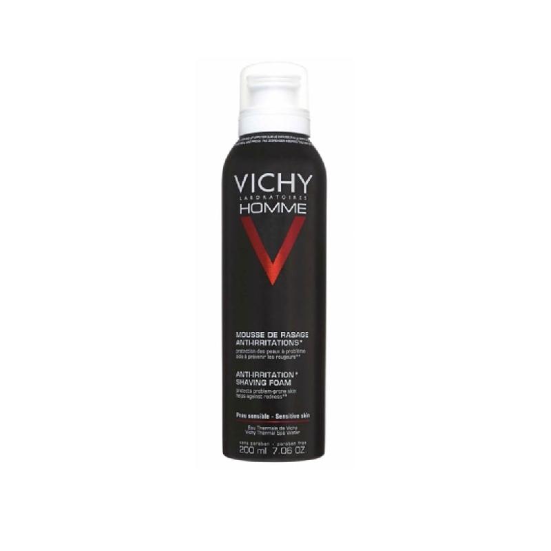 Achetez VICHY HOMME Mousse à raser peau sensible Aérosol de 200ml